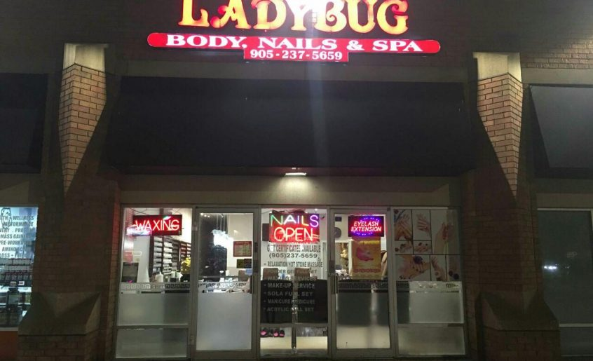 Nail Salon | LadyBug Body, Nails Spa