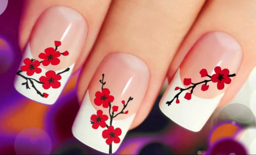 nail arts LadyBug Body, Nails & Spa